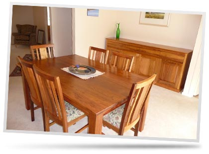 Envisage Furniture - Custom made handcrafted timber furniture - Home